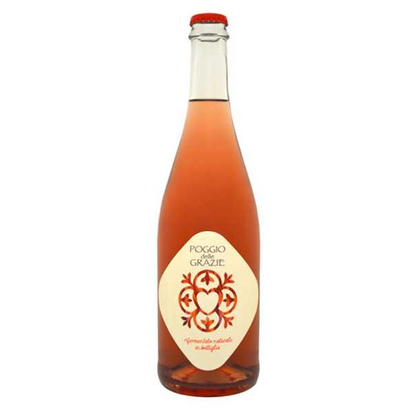 Rifermentato Rosè, Poggio delle Grazie (Veneto) - Metodo tradizionale, Pas Dosé