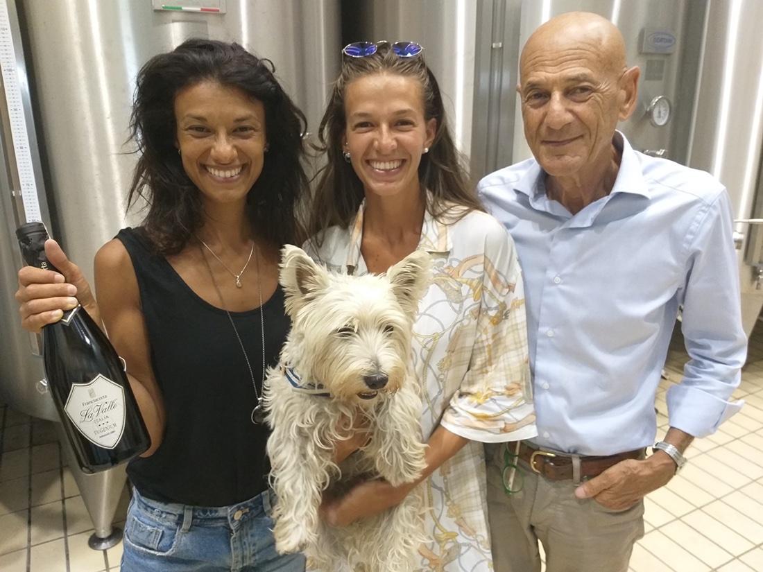 Franciacorta La Valle, famiglia Baratti