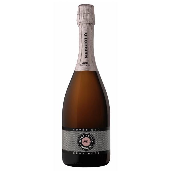 460 Casina Bric (Piemonte), Orĩgo-Ginĩs Cuvée 970 s.a. Rosé - Metodo Classico Brut