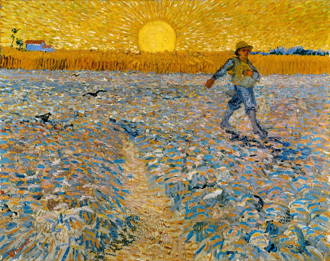 Vincent van Gogh, Il seminatore, 1888