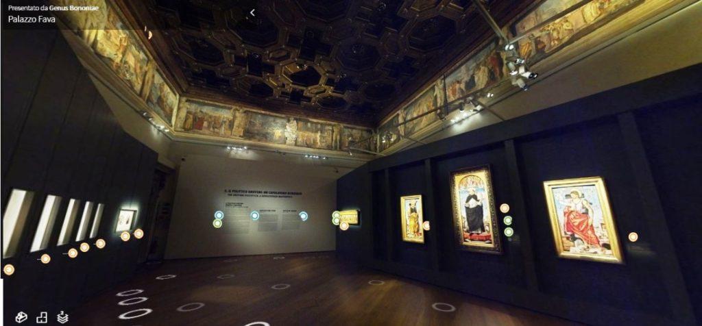 Polittico Griffoni Bologna virtual tour