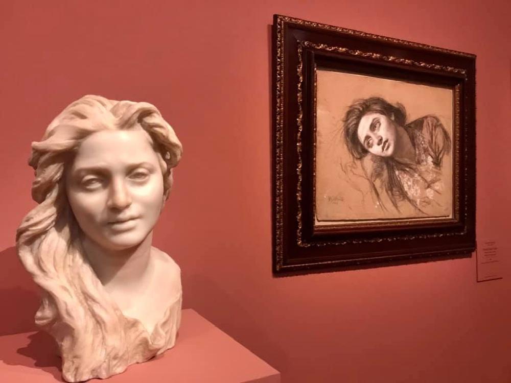 Gallerie d'Italia, Intesa Sanpaolo - Busto e ritratto di Anna, Gemito, Petit Palais, Parigi @ Carmen Guerriero