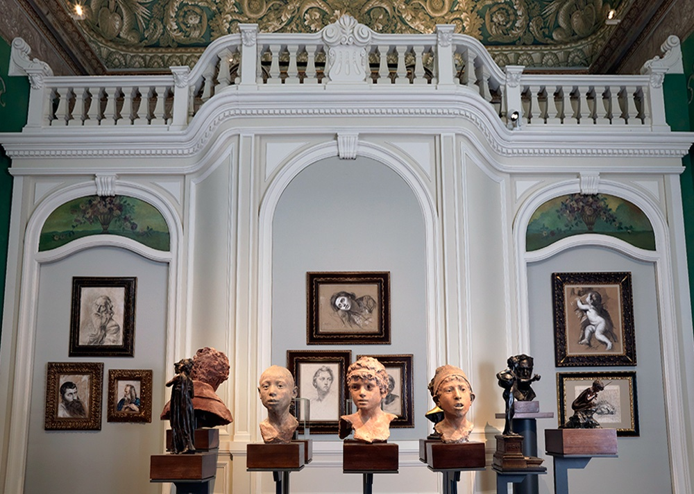 Gallerie d'Italia, Intesa Sanpaolo - Teste terrecotta, Gemito, Palazzo Zevallos Stigliano @ Galleria d'Italia