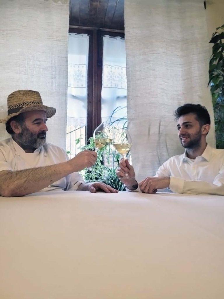 Hotel Valli di Lanzo, Ceres - Francesco Eblovi e Samuele Riva, titolari del ristorante