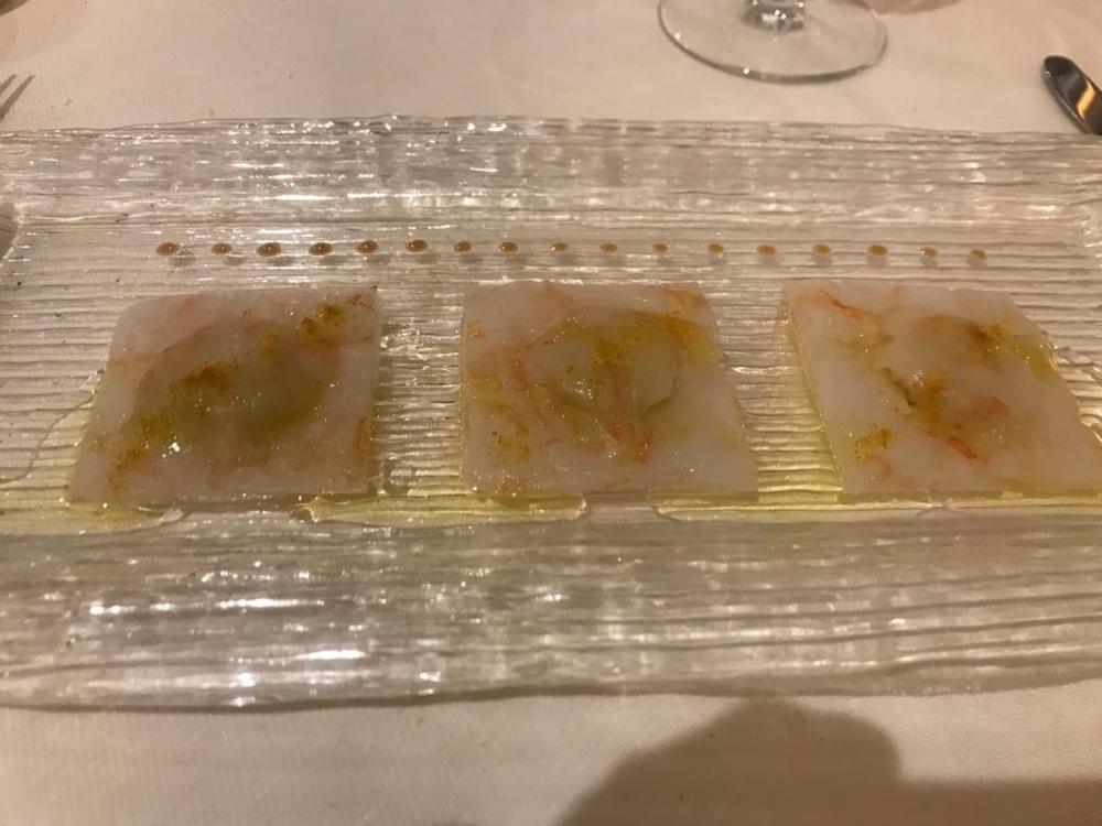 Il Nanetto, Cuneo - Ravioli di gamberi e patate