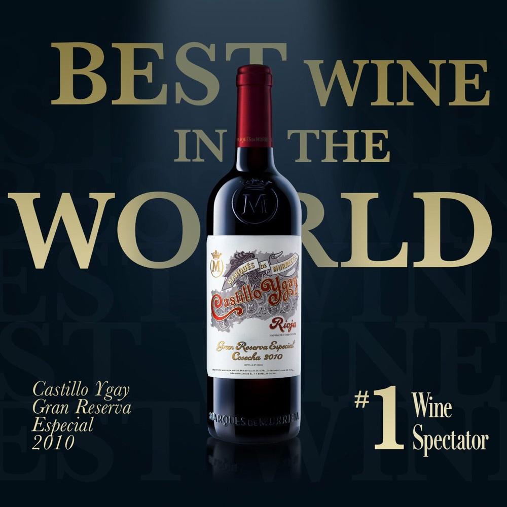 "Rioja Tinto Gran Reserva Especial ""Castillo Ygay"" 2010, Bodegas Marqués de Murrieta"
