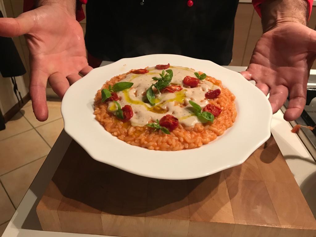 RisoTesta - Risotto brusciato Chef Antonio Bello