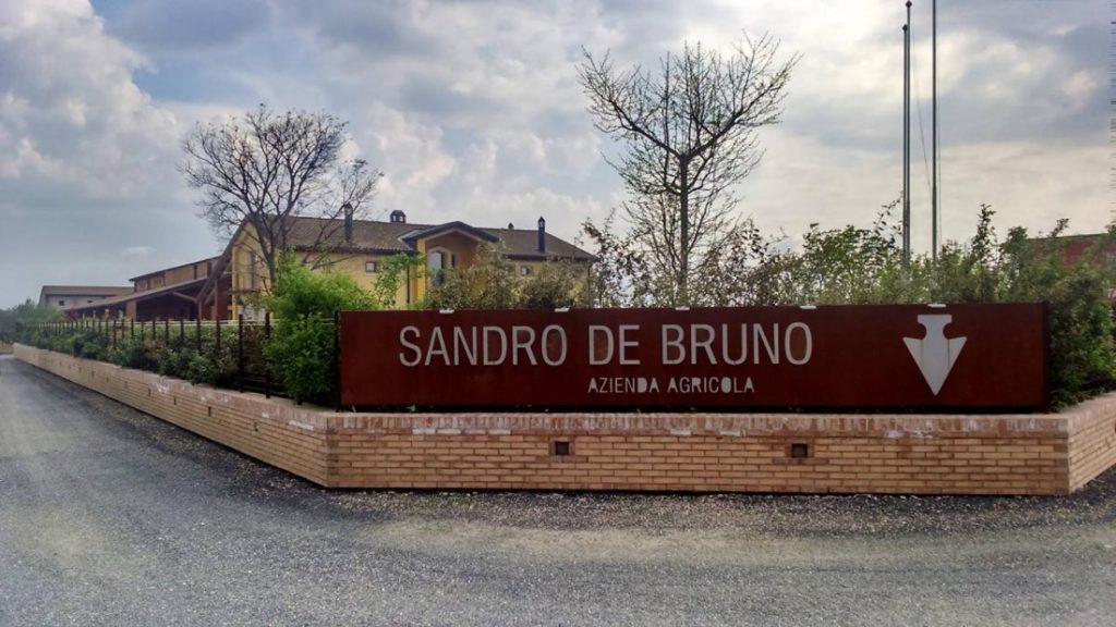 Sandro De Bruno - Facciata