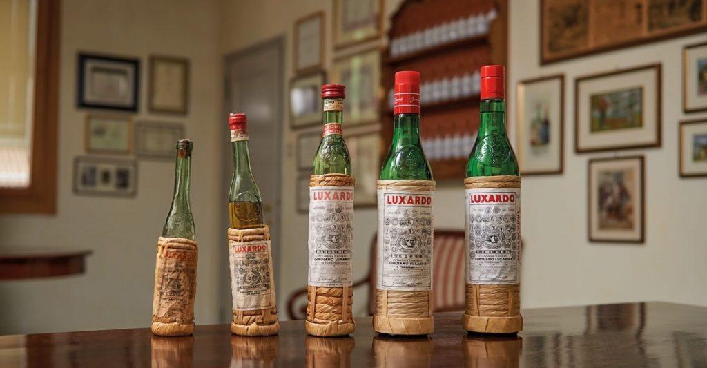 Luxardo - Bottiglie di maraschinov