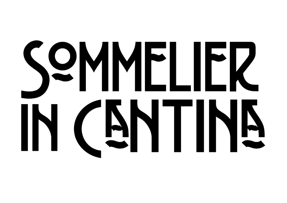 Sommelier in cantina