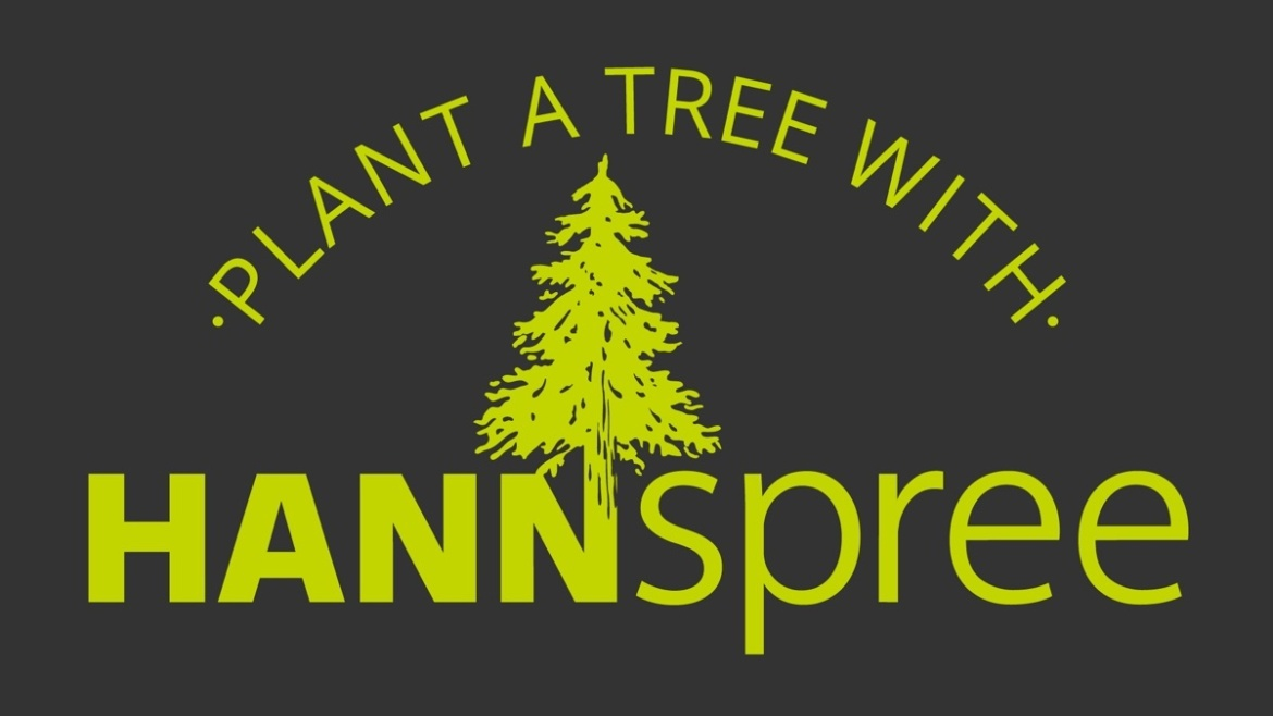 Logo Plant a Tree With Hannspree