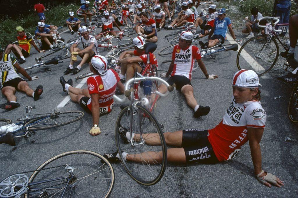 Tour de France, 1982 © Harry Gruyaert:Magnum Photos